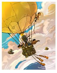 The Balloon Flight by travisJhanson