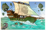 Sailing the seas Treasure Hunt page 1