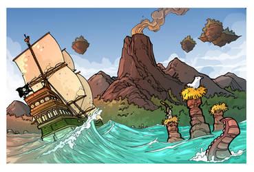 Sailing the seas Treasure Hunt page 2 by travisJhanson