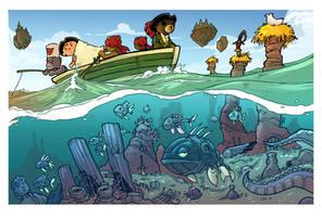 heading to the island- treasure hunt page 3
