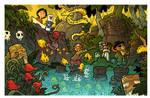 into the jungle - treasure hunt page 5 by travisJhanson