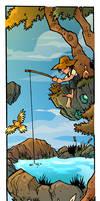 Fishing Hole by travisJhanson
