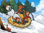 the Snow ride