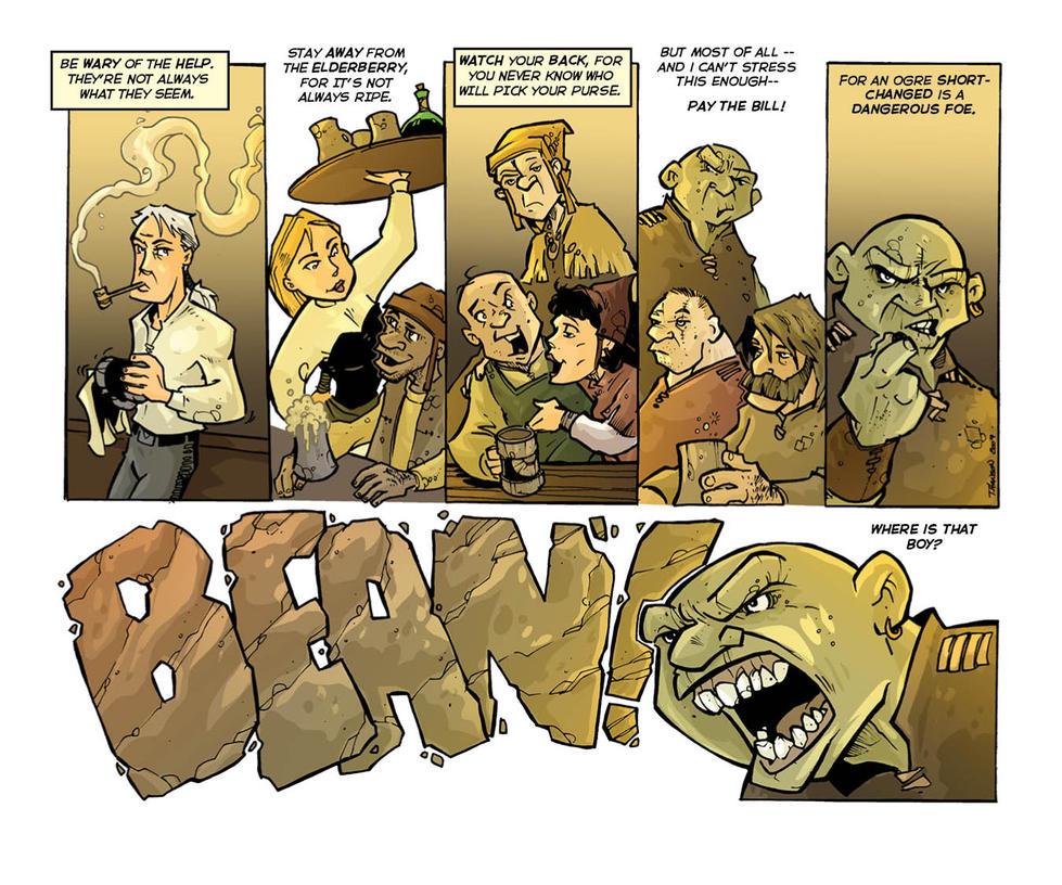 the Bean a Fantasy story 1.3 by travisJhanson