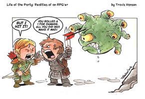 Poor Shot : RPG Comic
