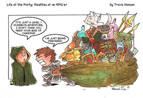Bag of holding: RPG Comic by travisJhanson