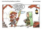 Treasure rewards: RPG Comic