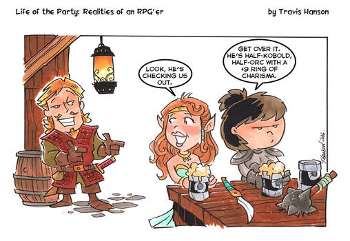 Ring of Charisma: RPG comic