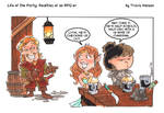 Ring of Charisma: RPG comic