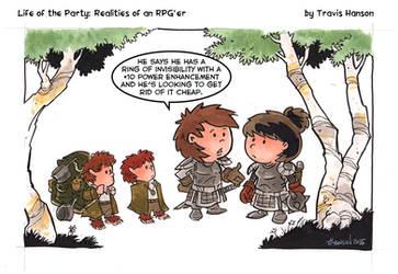 Rings of Power: RPG Comic by travisJhanson