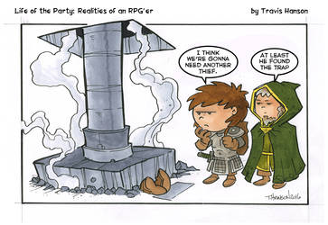 Traps and thieves - rpg comic by travisJhanson