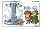 Traps and thieves - rpg comic