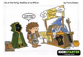Wandering Wizards ... RPG Comic by travisJhanson