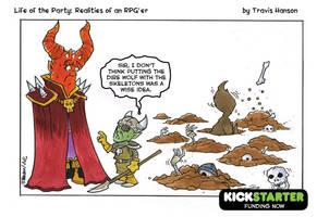 Evil overload issues. RPG Comic by travisJhanson