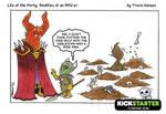 Evil overload issues. RPG Comic