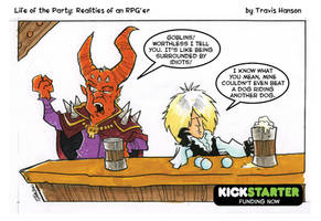 the goblin king - RPG Comic