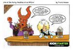 the goblin king - RPG Comic