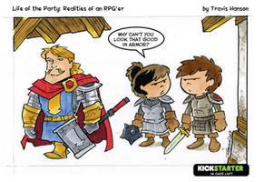 Paladins - RPG Comic by travisJhanson