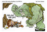 Calling time-out with cave trolls... rpg comic