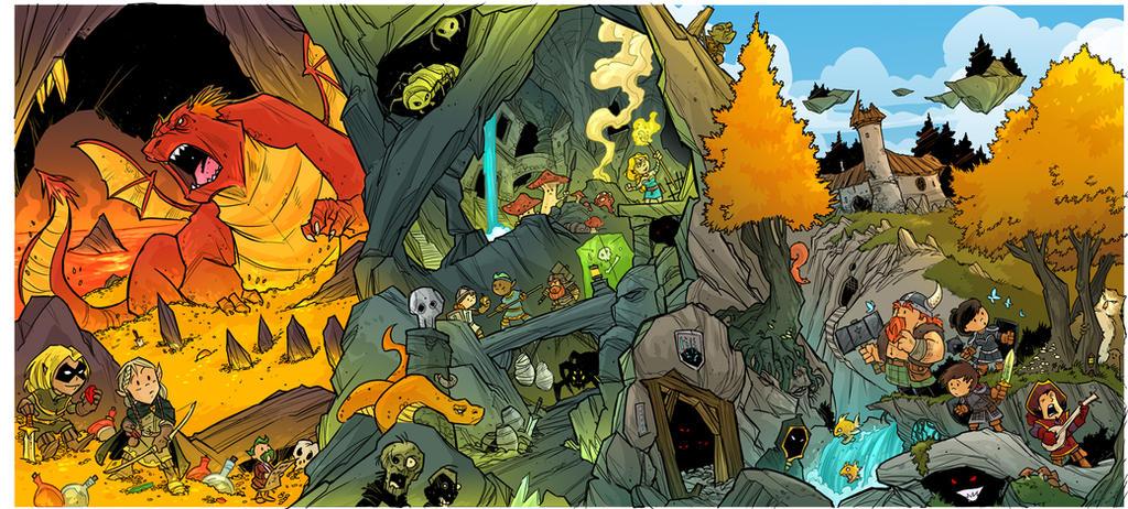 RPG Players folder cover by travisJhanson