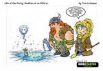armor and ice - rpg comic