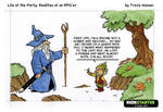 Wizards, hobbits, gnomes and quests - rpg comic