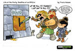 dungeon levers... rpg comic