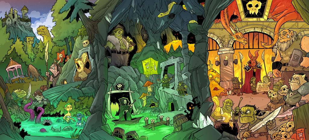 The DM's Monster Folder by travisJhanson