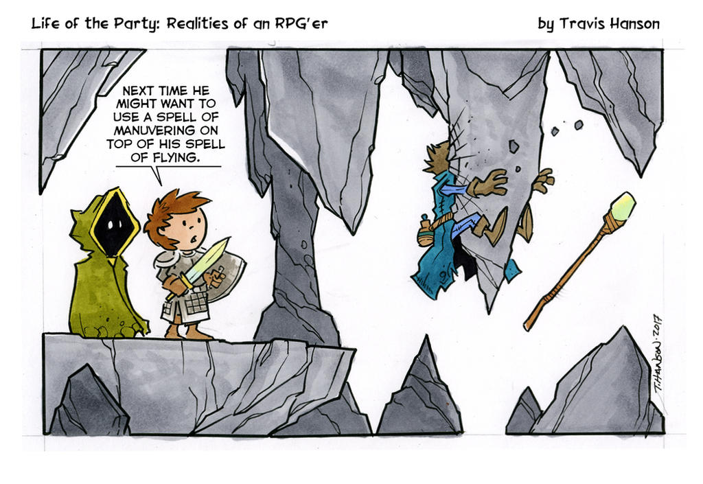 flying spells and wizards    rpg comic by travisJhanson on DeviantArt
