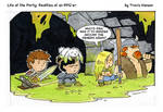 Dungeon crawling the sewers- RPG Comic