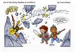 thats gonna hurt... rpg comic by travisJhanson