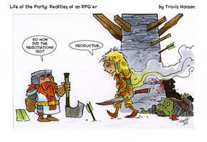 the negotiator - LOTP comic by travisJhanson