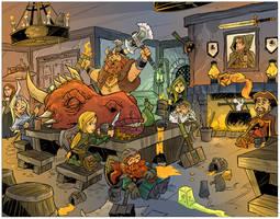 Dragon head mead party