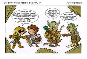 The plan of attack... RPG Comic by travisJhanson