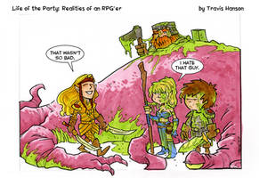Truth about elves... rpg comic by travisJhanson