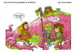 Truth about elves... rpg comic