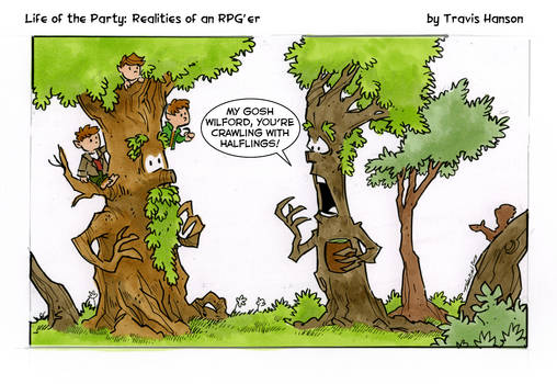 halfling infestation... rpg comic