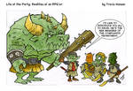 Goblin human resources....  rpg comic