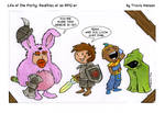 its all about the armor... RPG Comic LOTP