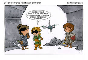 thieves and drones rpg comic by travisJhanson