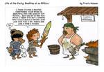 sword crafting negotians... rpg comic