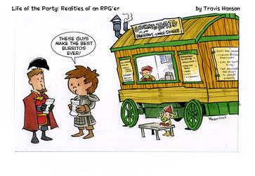 gnome food trucks - rpg comic
