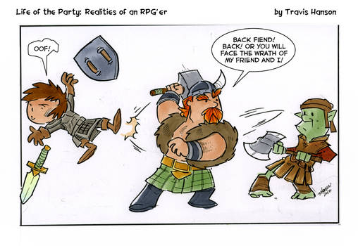 keep an eye on the backup... rpg comic