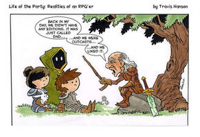 A nod to the gamer... rpg comic  by travisJhanson