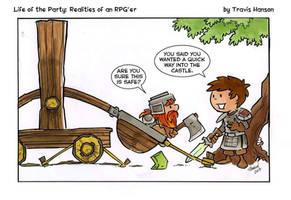 Siege tactics ... rpg comic by travisJhanson