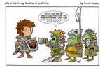 Goblin charities... rpg comic