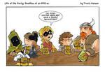 Character backstories rpg comic