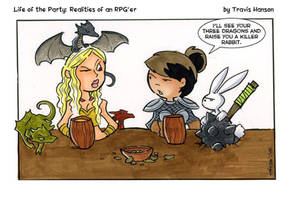 Mother of dragons vs mother of rabbits