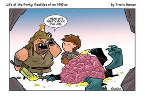 Intellect devourer  by travisJhanson