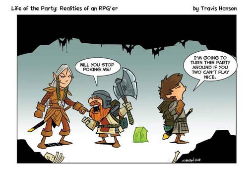 Elven dwarf relationships